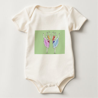 Dance is poetry in motion baby bodysuit