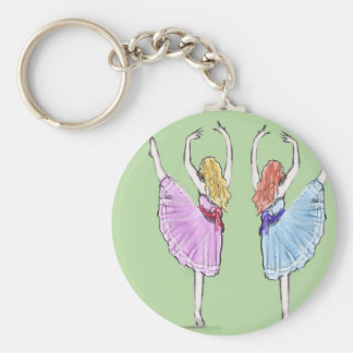 Dance is poetry in motion key ring