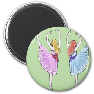 Dance is poetry in motion magnet