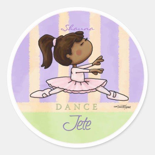 dance-jeteaa10x10_circle_cp round sticker