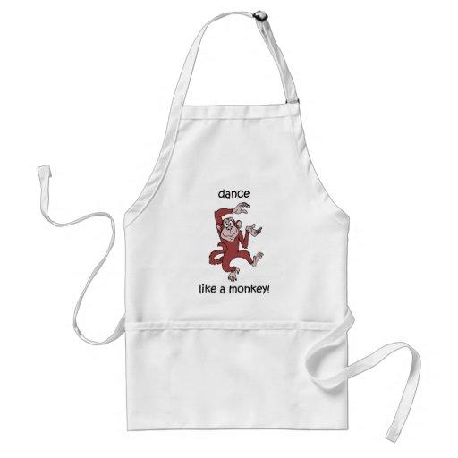 Dance like a monkey! apron