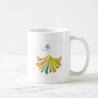 Dance like no one is watching dancing lady coffee mug