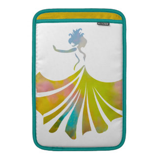 Dance like no one is watching dancing lady sleeve for MacBook air