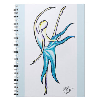 Dance Like No-one is Watching Spiral Notebook