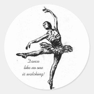 Dance like no oneis watching! sticker