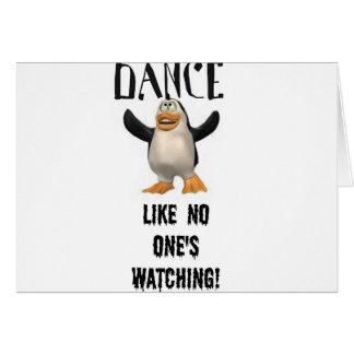 Dance...Like No One's Watching! Greeting Card