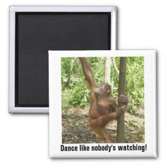 Dance Like Nobody's Watching Motivational Magnet
