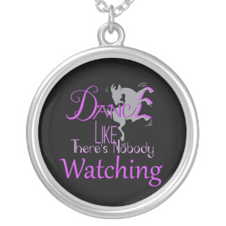 DANCE Like There's NoBody Watching GOAT Pendant