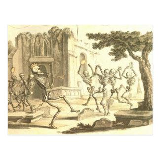 Dance Macabre Momento Mori Post Cards