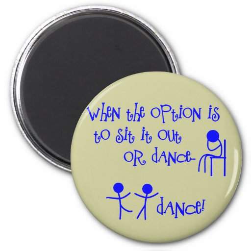 DANCE REFRIGERATOR MAGNETS