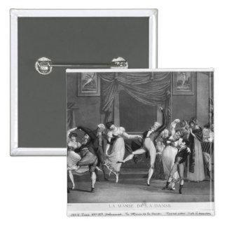 Dance mania, 1809 pinback button