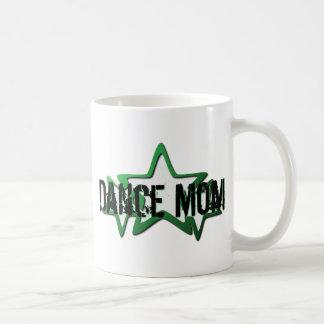 Dance Mom Green Stars Coffee Mug