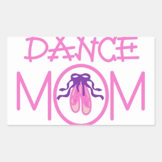 Dance Mom Rectangular Sticker