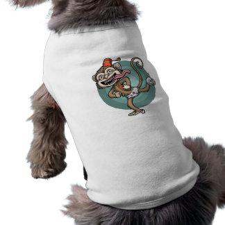 Dance, Monkey! Sleeveless Dog Shirt