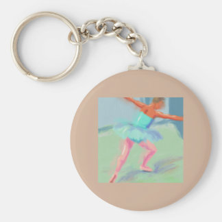 Dance Movement in Blue Key Chain