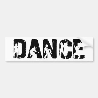 DANCE! Movers and Shakers Bumper Sticker