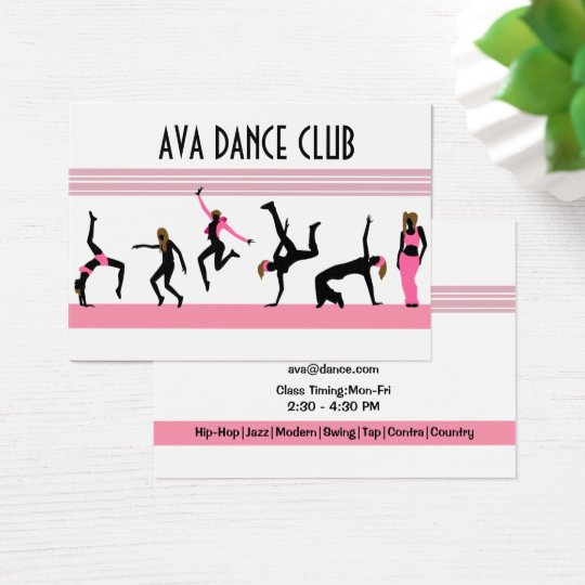 Dance moves Business card