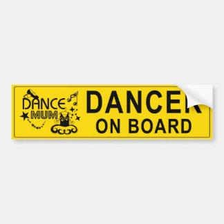 Dance Mum Bumper Sticker