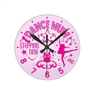 Dance Mum Clock