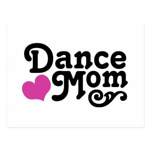 Dance Mum Postcard