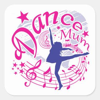 Dance Mum Square Sticker