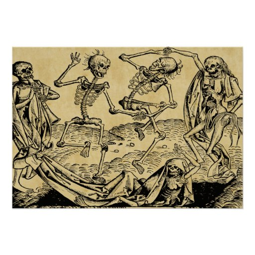 Dance Of Death By Michael Wolgemut 1493 Posters