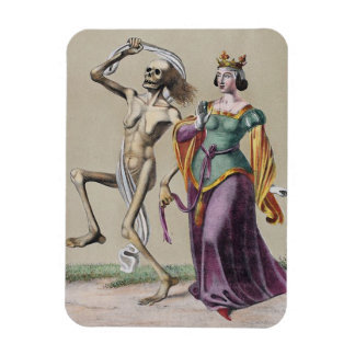 Dance of Death in Basel | The Queen Rectangular Photo Magnet