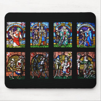 Dance of Death Stained Glass Mousepads