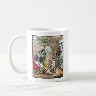 Dance of Death - The Child - 1816 Color Print Basic White Mug