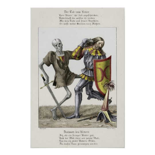 Dance of Death - The Knight Poster