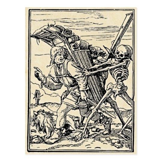 Dance of Death, The Pedlar Postcard