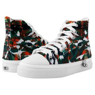 Dance of the Autumn Leaves Hi Tops