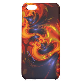 Dance of the Dragons - Indigo & Amber Eyes Artist iPhone 5C Cover