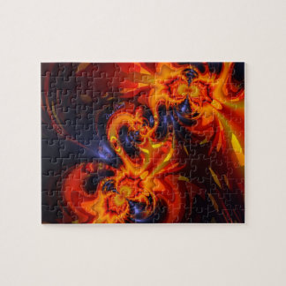 Dance of the Dragons - Indigo & Amber Eyes Puzzle