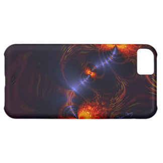 Dance of the Eyes – Indigo and Gold Sight iPhone 5C Case