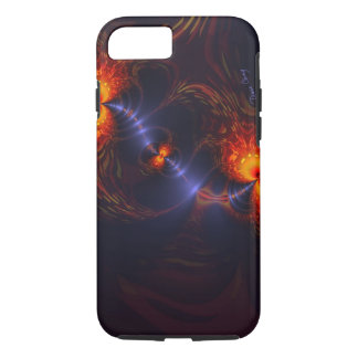 Dance of the Eyes – Indigo and Gold Sight iPhone 8/7 Case