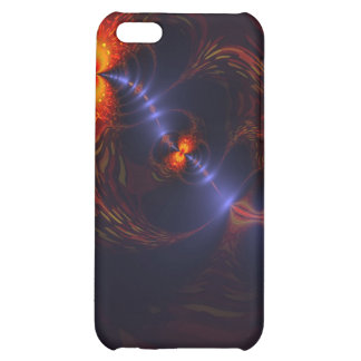 Dance of the Eyes – Indigo and Gold Sight iPhone 5C Cases