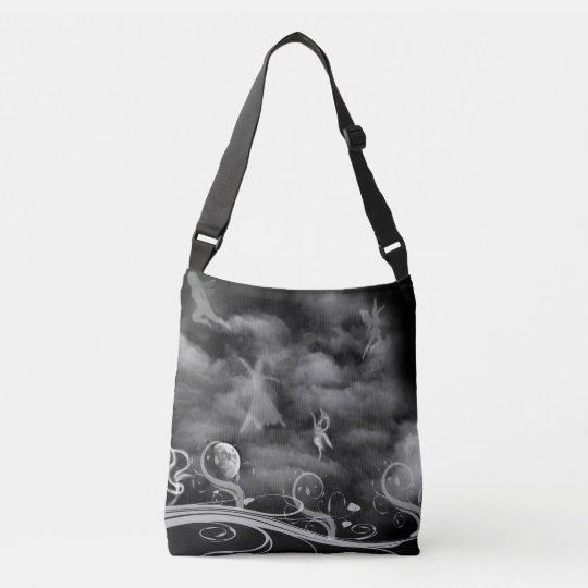 Dance of the Fairies Allover print cross body