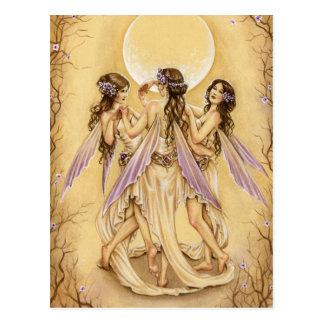 Dance of the Graces Postcard