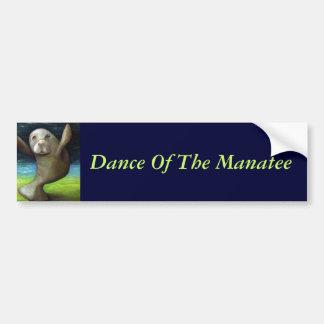 Dance Of The Manatee Bumper Sticker