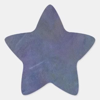 Dance of the Midnight Faeries Star Sticker