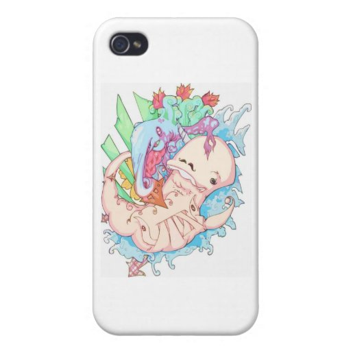 Dance of the Narwhal iPhone 4/4S Case