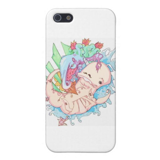 Dance of the Narwhal iPhone 5 Covers