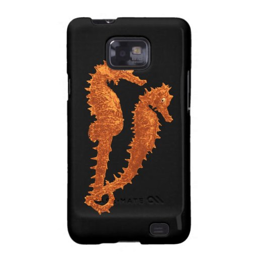 Dance Of The Seahorses (Orange)