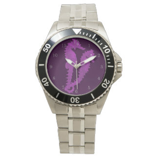 Dance Of The Seahorses (Purple) Watches