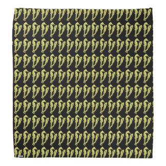 Dance Of The Seahorses (Yellow) Bandana