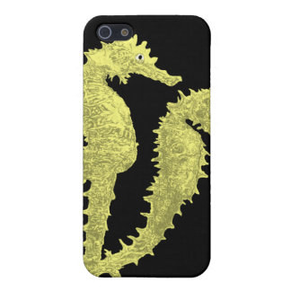 Dance Of The Seahorses (Yellow) Case For iPhone 5/5S