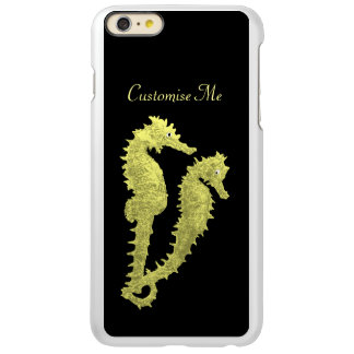 Dance Of The Seahorses (Yellow) iPhone 6 Plus Case