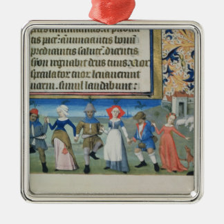 Dance of the shepherds christmas tree ornaments