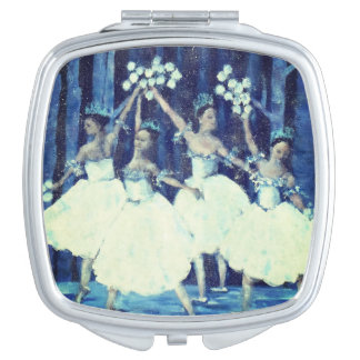 Dance of the snowflakes I Nutcracker Ballet Vanity Mirrors